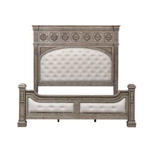 Pulaski Furniture - Kingsbury King / California King Panel Bed Footboard and Slats
