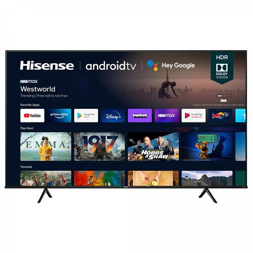 "Hisense - 75"" Class- A6G Series - 75"" 4K UHD Hisense Android Smart TV (2021)"