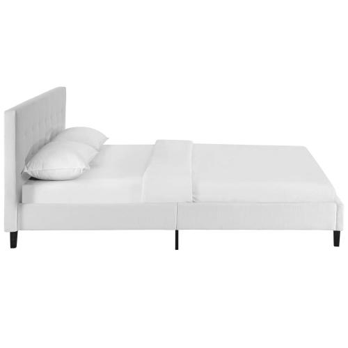 Linnea Full Bed in White