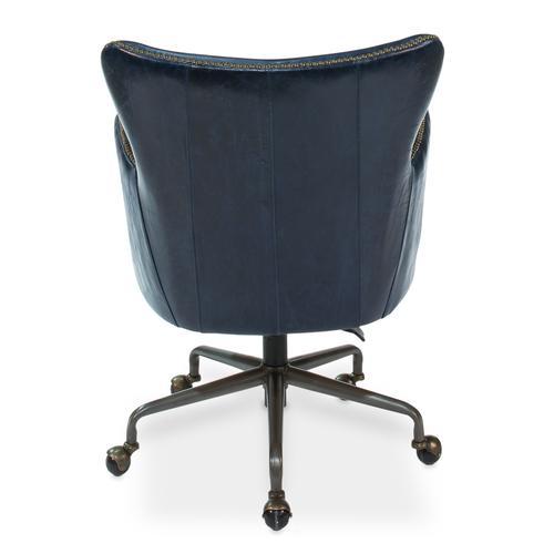 Andrew Jackson Desk Chair, Chateau Blue