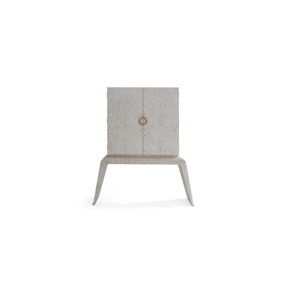 Baxter Bar Cabinet-White