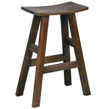 Product Image - Saddle Barstool - Java Brown