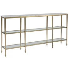 See Details - Sashay Gold Console