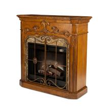 See Details - Fireplace with Electric Insert