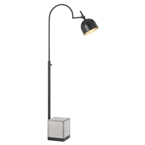 60W Beaumont Metal Floor Lamp With Cement Base