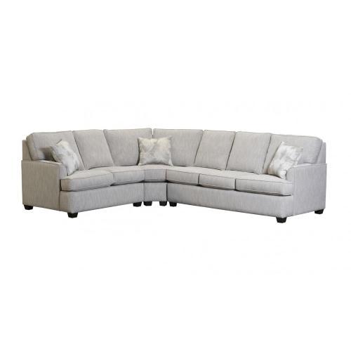 Capris Furniture - 539 SECTIONAL PIECES