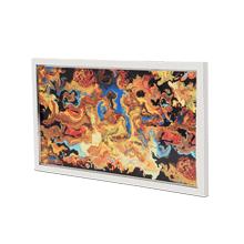 Mystique Handpainted Wall Art Stainless Steel