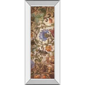 """Floral Sonata I"" By O'Flannery Mirror Framed Print Wall Art"