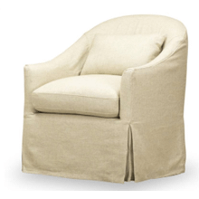 Becky Slipcover Swivel Glider - Tribecca Natural