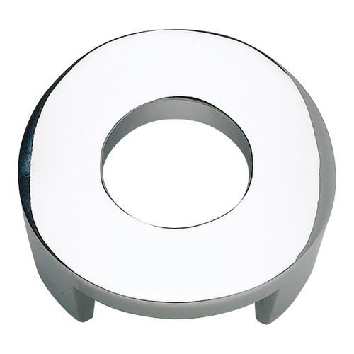 Atlas Homewares - Centinel Round Knob 1 1/4 Inch (c-c) - Polished Chrome
