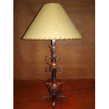 See Details - Three Star Metal Lamp