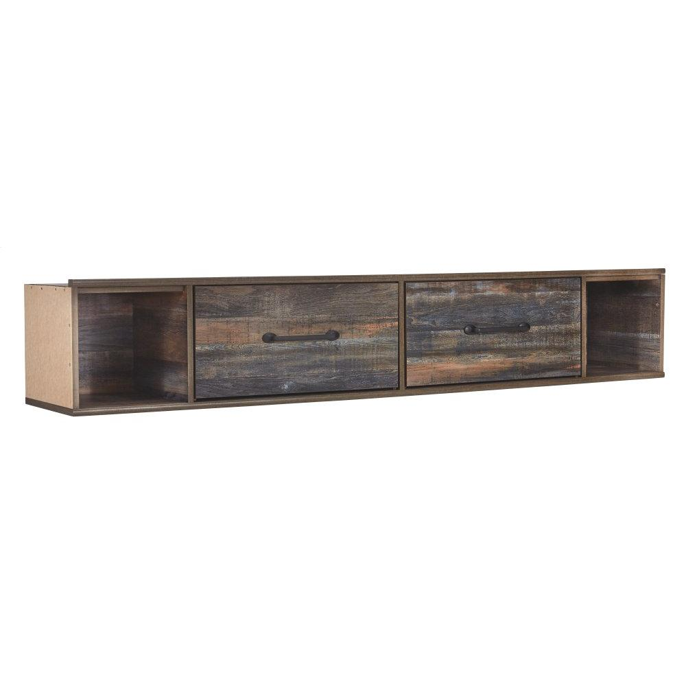 Drystan Twin Panel Bed With 4 Storage Drawers