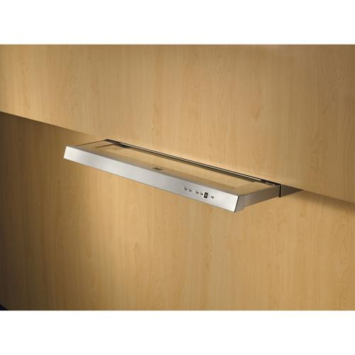 BEST Range Hoods - 36-Inch Brushed Stainless Steel Built In Slide-out Hood, internal 575 Max blower CFM (U102 Series)