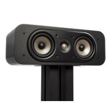 View Product - Dedicated Center Channel Loudspeaker For High-Resolution Home Theater Sound in Black