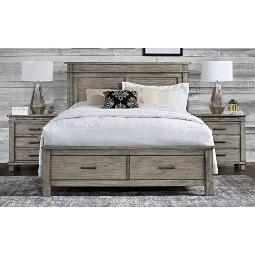 GLACIER POINT King Storage Bed