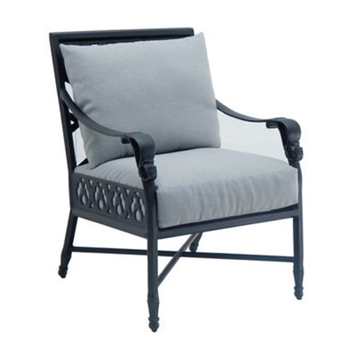 Castelle - Biltmore Cushioned Dining Chair
