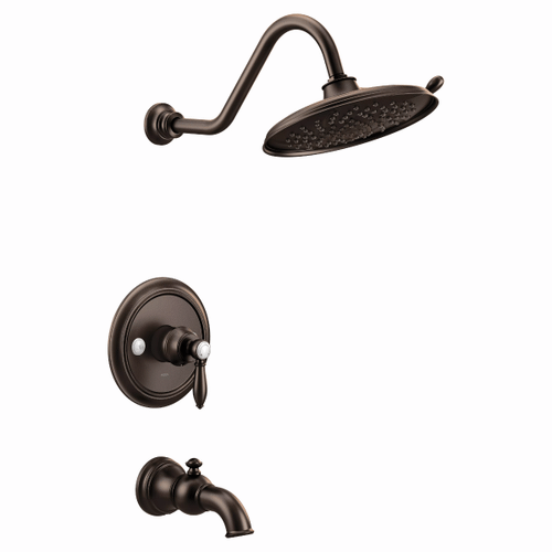 Weymouth oil rubbed bronze m-core 3-series tub/shower
