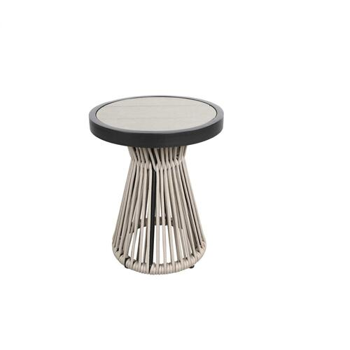 """Cove 24"""" Round Side Table"""