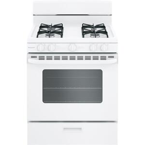"Hotpoint® 30"" Free-Standing Gas Range with Cordless Battery Ignition Product Image"