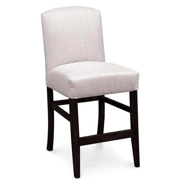 """See Details - Lana Stationary Barstool, 30"""" Seat Height / Fabric Cushion Seat"""