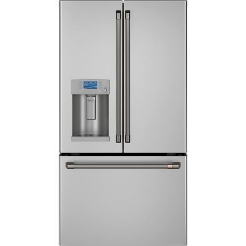 Gallery - Café™ ENERGY STAR® 22.1 Cu. Ft. Smart Counter-Depth French-Door Refrigerator with Hot Water Dispenser