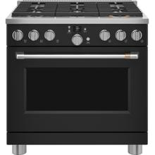 """View Product - Café™ 36"""" Smart Dual-Fuel Commercial-Style Range with 6 Burners (Natural Gas)"""