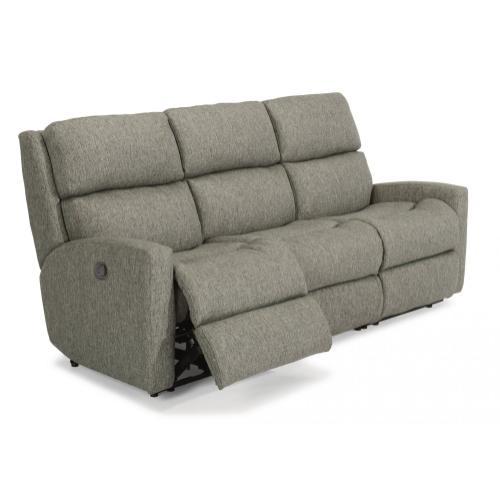 - California Fabric Reclining Sofa