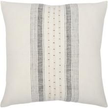 """View Product - Linen Stripe Embellished LSP-001 13""""H x 20""""W"""
