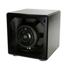 """SW1 Twin 15"""" Push-Pull Subwoofer in Black Gloss"""