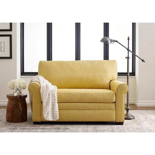 Gaines Roll Arm Sleeper Sofa - American Leather