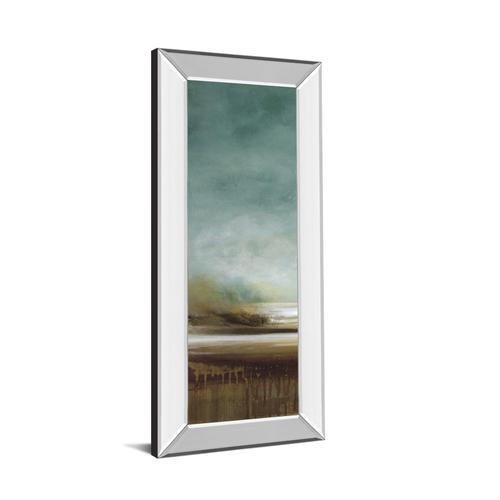 """New Horizons I"" By Tesla Mirror Framed Print Wall Art"