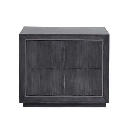 Echo Nightstand in Charcoal