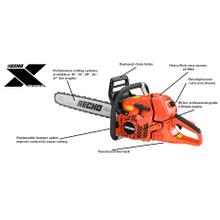 See Details - CS620PW Rear Handle Chainsaw ECHO X Series