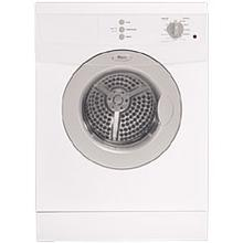 "White 24"" Wide, 3.8 cu.ft. Capacity Electric Dryer"