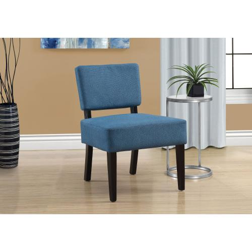 Gallery - ACCENT CHAIR - BLUE FABRIC