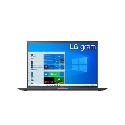 "LG - 17"" Black 16:10 WQXGA gram Laptop with Windows 10 Pro, 16GB RAM, 1TB SSD, 11th Gen Intel® Core™ i7 Processor, Intel® Evo™ Platform & Thunderbolt™ 4"