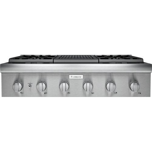 Thermador - Gas Rangetop 36'' Stainless Steel PCG364WL
