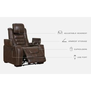 Signature Design By Ashley - Game Zone Power Recliner