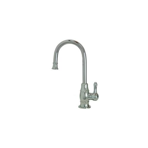Mountain Plumbing - Point-of-Use Drinking Faucet with Traditional Curved Body & Curved Handle - Weathered Copper