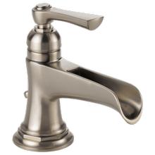 See Details - Single-handle Lavatory Faucet With Channel Spout