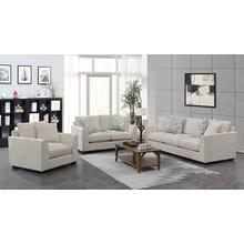 Waverly Cream Sofa, Love, Chair, U6412