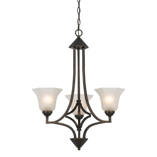 60W X 3 Metal 3 Light Chandelier
