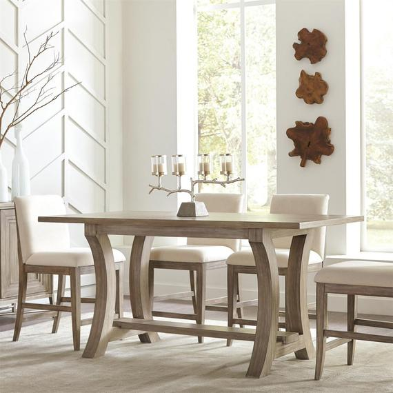 Riverside - Sophie - Counter Height Dining Table - Natural Finish