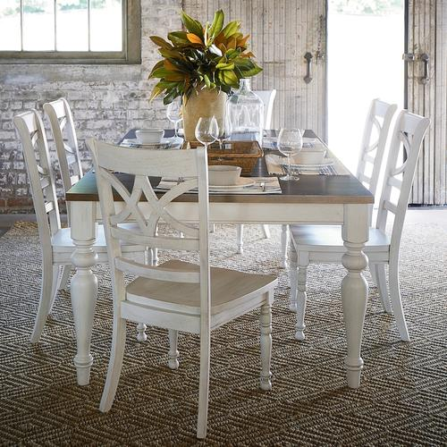 Provisions Farmhouse Leg Dining Table