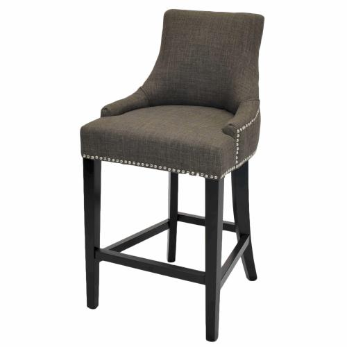 Product Image - Charlotte Fabric Counter Stool, Toffee