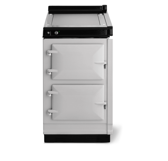 """AGAAga Classic 20"""" Hotcupboard With Warming Plate, Pearl Ashes"""