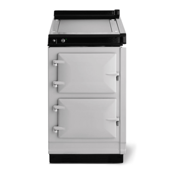 """AGA Classic 20"""" Hotcupboard with Warming Plate, Pearl Ashes"""