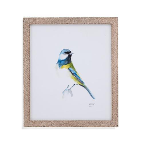 Bassett Mirror Company - Watercolor Songbirds I