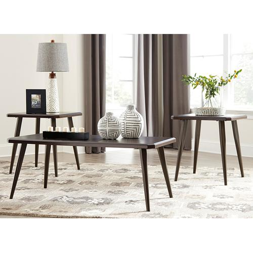 Signature Design by Ashley Fazani 3 Piece Occasional Table Set [FSD-TS3-57BW-GG]