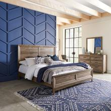 Product Image - King Panel Bed, Dresser & Mirror